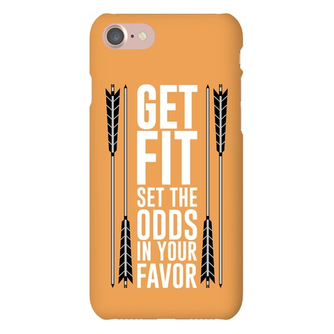 Get Fit Set The Odds In Your Favor Phone Case