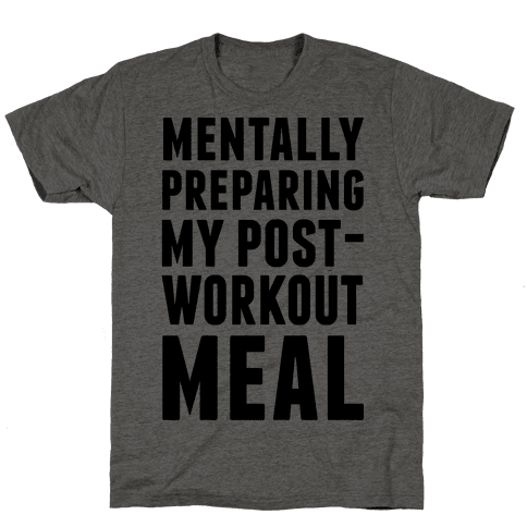 Mentally Preparing My Post-Workout Meal