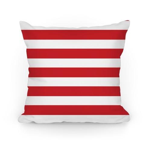 Stripes Pattern Pillow