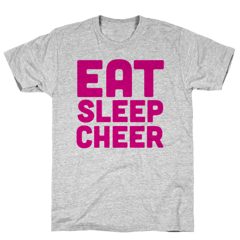 Eat Sleep Cheer Mens T-Shirt
