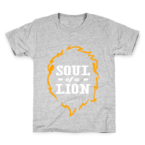Soul of a Lion (Dark Tank) Kids T-Shirt