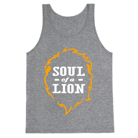 Soul of a Lion (Dark Tank) Tank Top