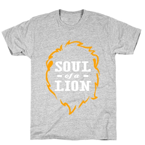 Soul of a Lion (Dark Tank) T-Shirt