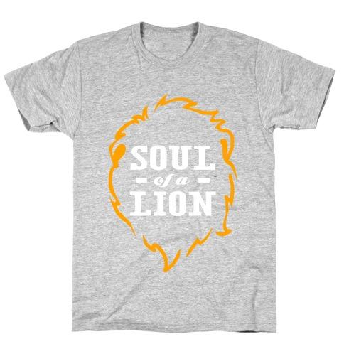 Soul of a Lion (Dark Tank) T-Shirt