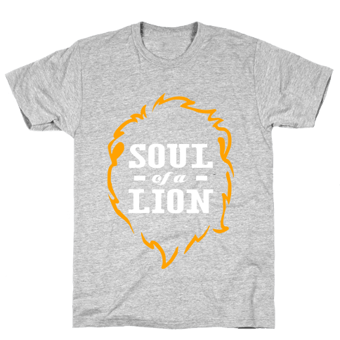 Soul of a Lion (Dark Tank) Mens T-Shirt