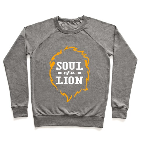 Soul of a Lion (Dark Tank) Pullover