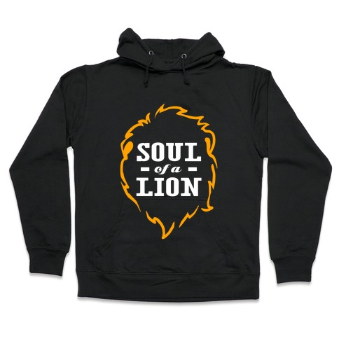 Soul of a Lion (Dark Tank) Hooded Sweatshirt