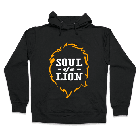 Soul of a Lion (Dark Tank) Hooded Sweatshirt