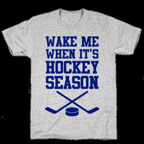 Wake Me When It's Hockey Season