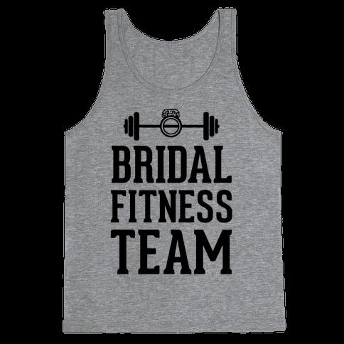 Bridal Fitness Team Tank Top