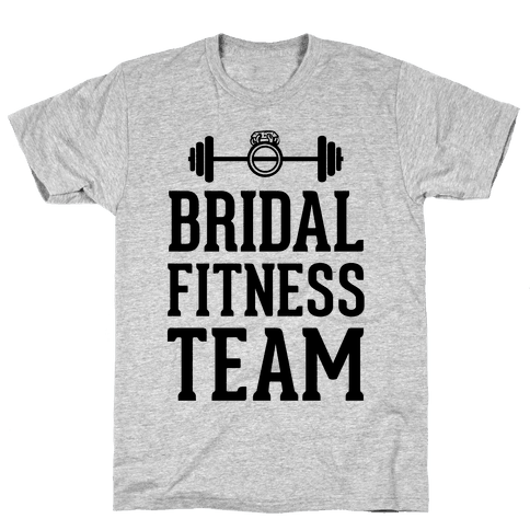 Bridal Fitness Team Mens T-Shirt