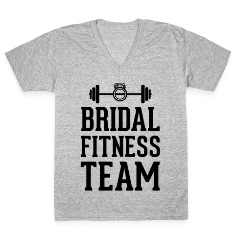Bridal Fitness Team V-Neck Tee Shirt