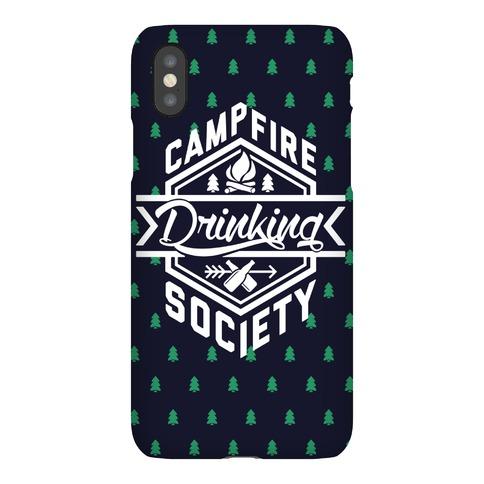 Campfire Drinking Society Phone Case