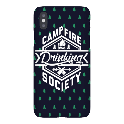Campfire Drinking Society Phone Case