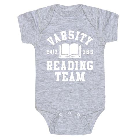 Varsity Reading Team Baby Onesy