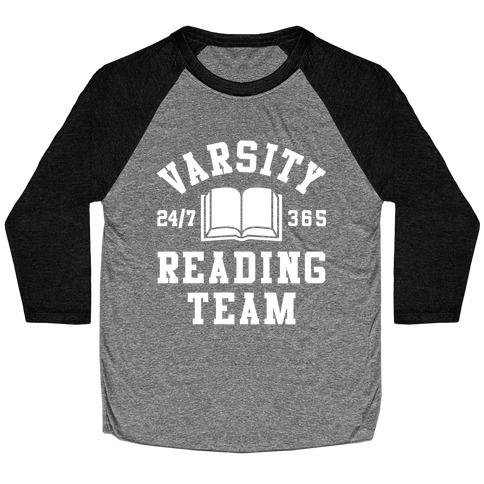 Varsity Reading Team Baseball Tee