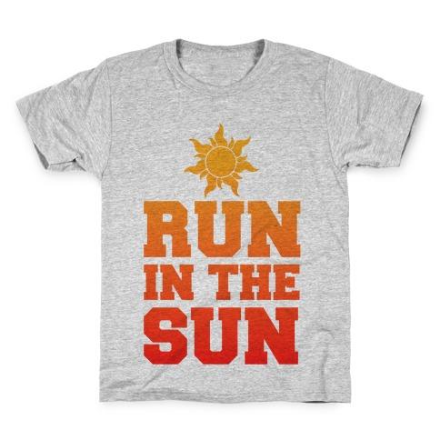 Run In The Sun Kids T-Shirt
