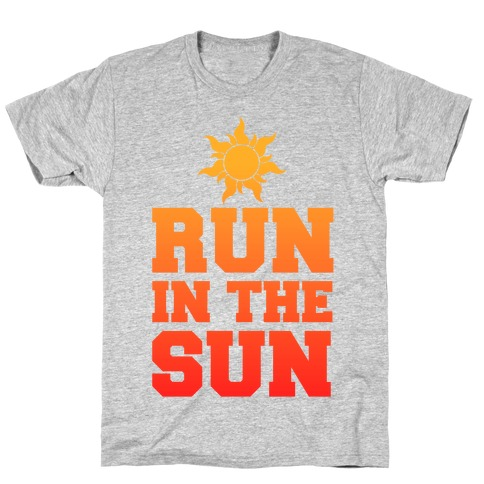 Run In The Sun Mens/Unisex T-Shirt