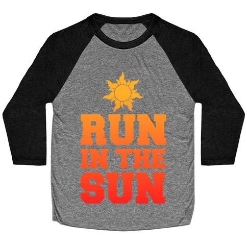 Run In The Sun Baseball Tee