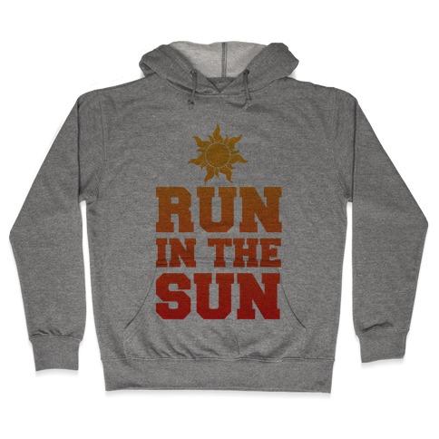 Run In The Sun Hooded Sweatshirt