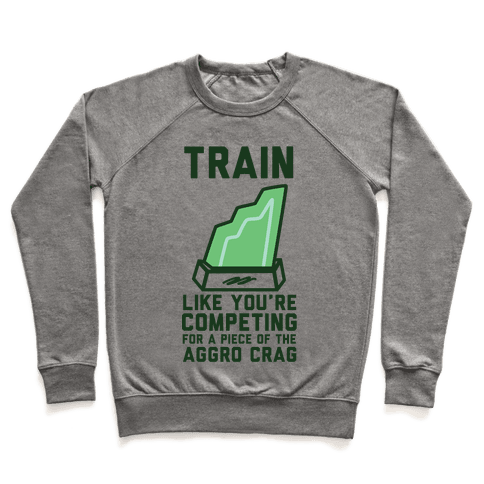 Train Like You're Competing for a Piece of the Aggro Crag Pullover
