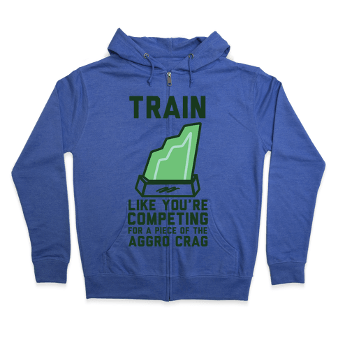 Train Like You're Competing for a Piece of the Aggro Crag Zip Hoodie