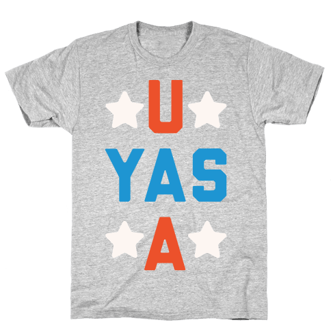 U Yas A Mens T-Shirt