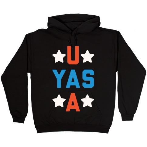 U Yas A Hooded Sweatshirt
