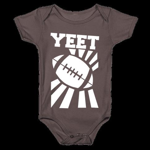 Yeet - Football Baby One-Piece