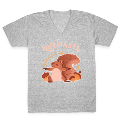 Nutmaste V-Neck Tee Shirt