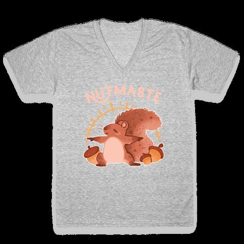 Nutmaste V-Neck Tee Shirt