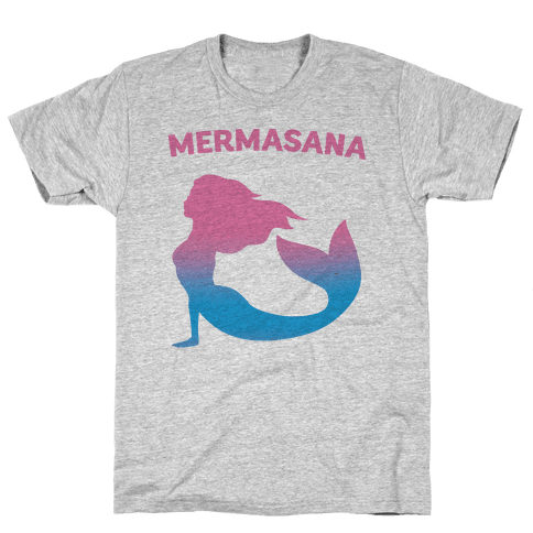 Mermasana Parody Mens T-Shirt
