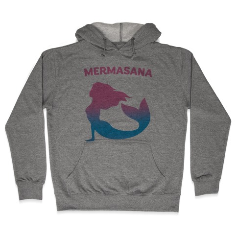 Mermasana Parody Hooded Sweatshirt