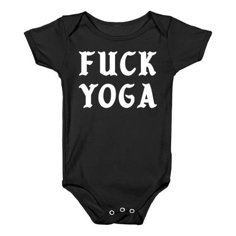 F*** Yoga Baby Onesy