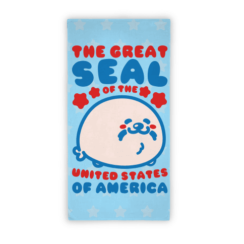 The Great Seal of The United States Beach Towel Beach Towel