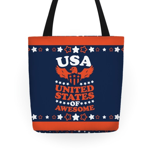 United States of Awesome Tote