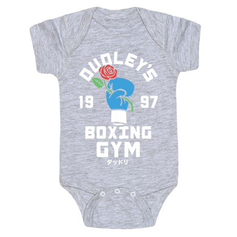 Dudley's Boxing Gym Baby Onesy