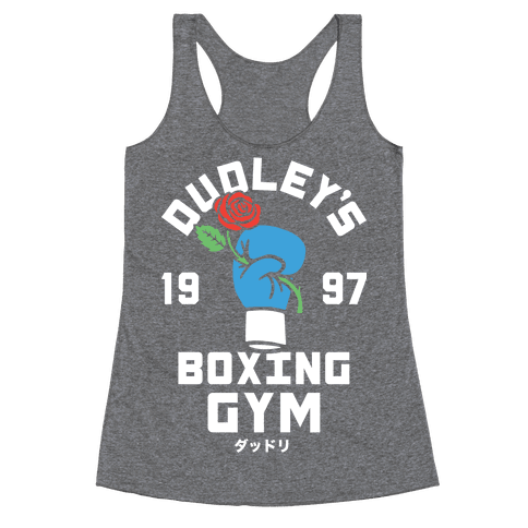 Dudley's Boxing Gym Racerback Tank Top