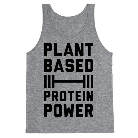Plant Based Protein Power Tank Top