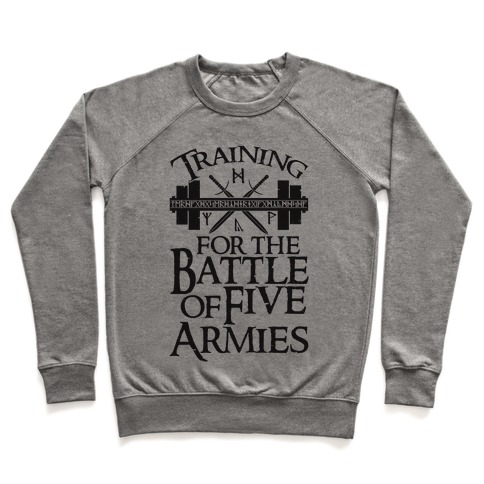 Training For The Battle Of Five Armies Pullover
