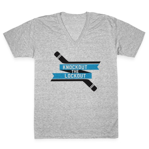 Knockout the Lockout V-Neck Tee Shirt