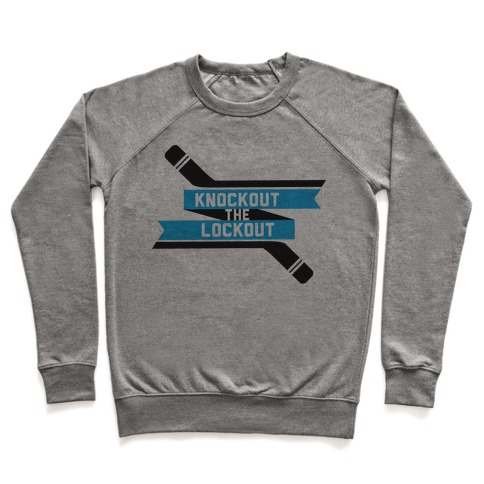 Knockout the Lockout Pullover