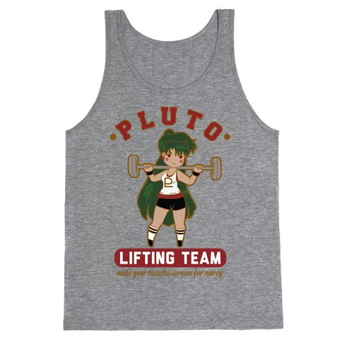 Pluto Lifting Team Tank Top