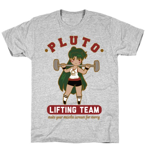 Pluto Lifting Team T-Shirt