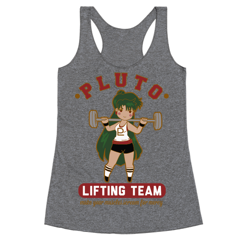 Pluto Lifting Team Racerback Tank Top