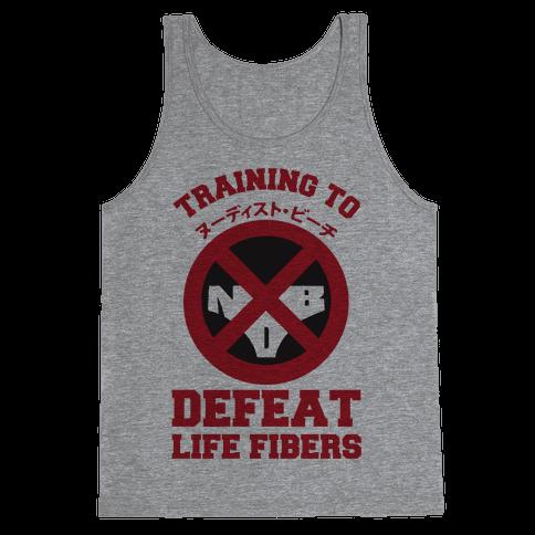 Training To Defeat Life Fibers Tank Top