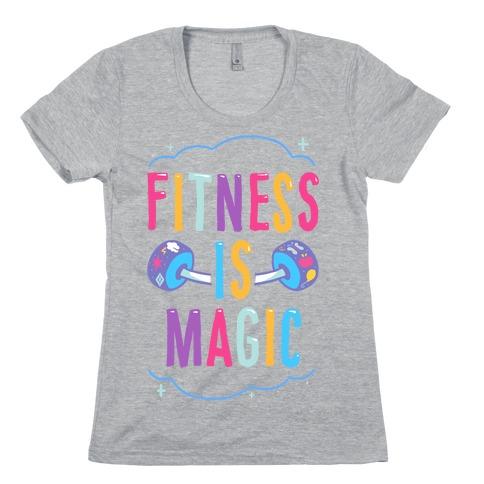Fitness Is Magic Womens T-Shirt
