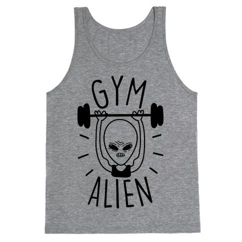 Gym Alien Lifting Tank Top