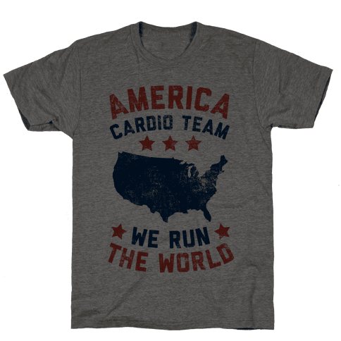 America Cardio Team (We Run The World)