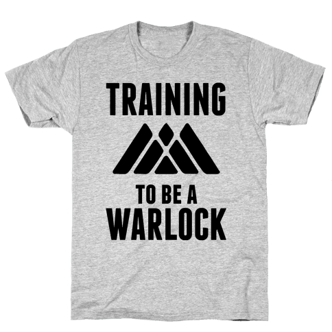 Training To Be A Warlock Mens T-Shirt